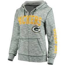 Hoodie With Thumb Holes Womens Green Bay Packers Women U0027s Sweatshirts Hoodies Fleece Sweaters