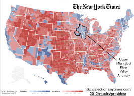 map us iowa iowa minnesota and the anomalous zone on the u s electoral map