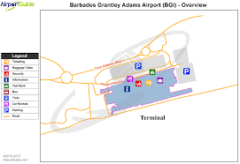 Dfw Terminal Map Bridgetown Sir Grantley Adams International Bgi Airport