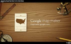 Google Maps Maker Gigaom Google Turns Map Maker Loose In The U S