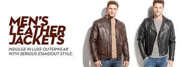 men u0027s leather jackets u0026 men u0027s leather coats macy u0027s