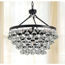 Bronze And Crystal Chandeliers Entice The Gaze Of Your Guests With This Brilliant Five Light