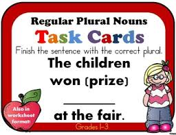 plural nouns plural nouns group activities and worksheets