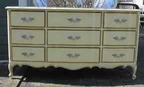 Antique White French Provincial Bedroom Furniture by Dixie Furniture Antique Dresser Antique Furniture