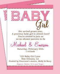 Invitation Card Example Baby Shower Invitation Example Free Baby Shower Invitation Wording