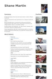Foreman Resume Example foreman cv örneği visualcv özgeçmiş örnekleri veritabanı