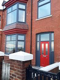 full house of rehau upvc anthracite grey windows a modern