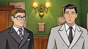 archer cartoon kingsman 2 the golden circle archer vs eggsy 2017 youtube