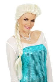 elsa costume frozen inspired princess elsa costume wig child by