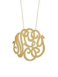 large monogram necklace ginette ny jewelry large monogram necklace ylang 23