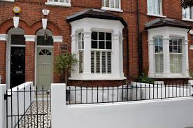 victorian cast iron fencing house wall google search front
