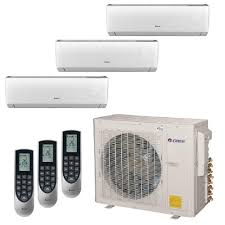 gree multi 21 zone 30 000 btu 2 5 ton ductless mini split air
