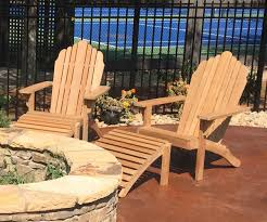 Teak Outdoor Furniture Atlanta by Grand Adirondack With Footrest Atlanta Teak Furniture