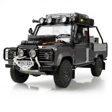 white land rover defender land rover land rover defender movie edition 1 18 scale