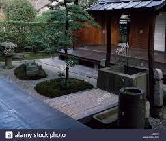 Inside Garden by Shinju An Inside Garden Daitoku Temple Kyoto Japan Well Stone