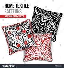 matching patterns pattern set 3 matching decorative throw stock vector 671516077
