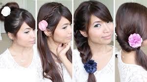 quick hairstyles medium length hair beautiful quick easy hairstyles for medium length hair images
