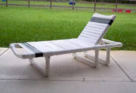 chaise pvc pvc furniture for your patio or pool pipefinepatiofurniture
