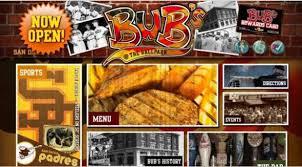 restaurant web design nightclub u0026 bar website designer