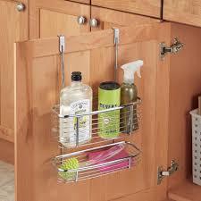 Over The Door Cabinet Organizer by Kitchen Cabinet Door Storage Accessories Storage Ideas