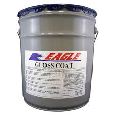 Sealer For Stone Patio by Eagle 5 Gal Gloss Coat Clear Wet Look Solvent Based Acrylic