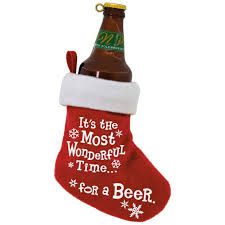 beer time stocking ornament keepsake ornaments hallmark