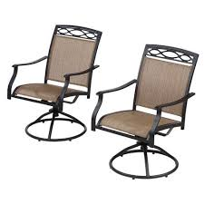 Patio Sling Chair Patio Chairs At Academy Mosaic Sling Swivel Rocker Chair Set Patio