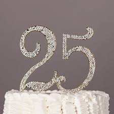 25th anniversary cake toppers 25th anniversary cake toppers shop 25th anniversary cake toppers