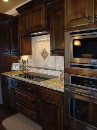 Decorative Kitchen Backsplash Tiles Appealing White Brown Colors Glass Tile Decorative Kitchen