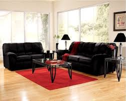 Tufted Living Room Set Red And Black Living Room Set Black Painted Wood Side Table