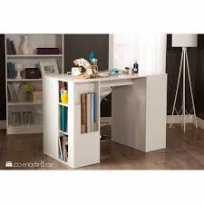 south shore crea craft table south shore crea white counter height craft table with storage for
