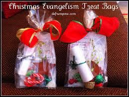 defrump me christmas evangelism treat bags