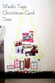 Washi Tape Wall by Washi Tape Christmas Card Tree U2014 Sarah Jane Studios