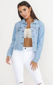 light wash denim jacket womens blue jackets shop women s jackets online showpo