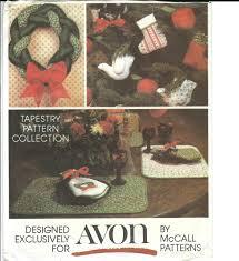 80s 90s mccall u0027s 5380 vtg pattern christmas tapestry