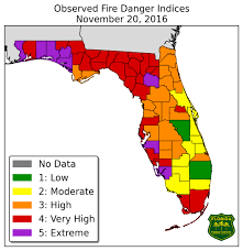florida thanksgiving thanksgiving week 2016 weather warmer temps fire risk in tampa
