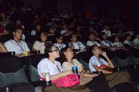 Deaf Blind Movie Special Movie Screening For The Deaf And Blind At Sm Olongapo
