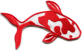 koi carp tattoo images aliexpress com buy japanese koi carp fish tattoo japan love red