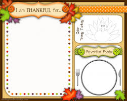 kid s thanksgiving placemats doodles