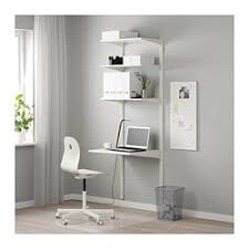 Wire Shelving Desk Closet Systems Algot System Ikea