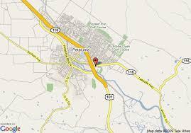 petaluma ca map map of sheraton sonoma county petaluma petaluma