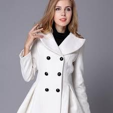 new fashion beige trench winter coat for women women beige coat