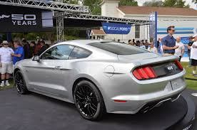 2015 Mustang Gt Black On Black Photo Gallery 2015 Ford Mustang In Ingot Silver Mustangs Daily