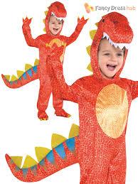 boys dinosaur costume t rex jurassic kids halloween party costume