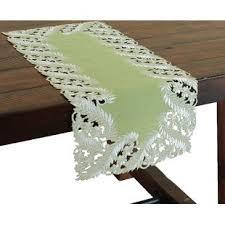sage green table runner marine green table wayfair