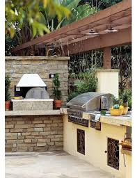 Outdoor Kitchen Designs With Pizza Oven by 196 Best Outdoor Kitchens Images On Pinterest Outdoor Kitchens