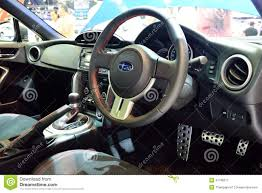 custom subaru brz interior subaru brz car editorial photo image 35264876