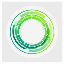 imagenes abstractas con circulos fondo de círculos abstractos tecnología vector fondo vector libre