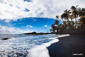 black sand beach big island willgoto hawaii usa hawaii beaches