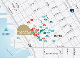 Seattle Districts Map by Neighborhood The Colman Building The Colman Building